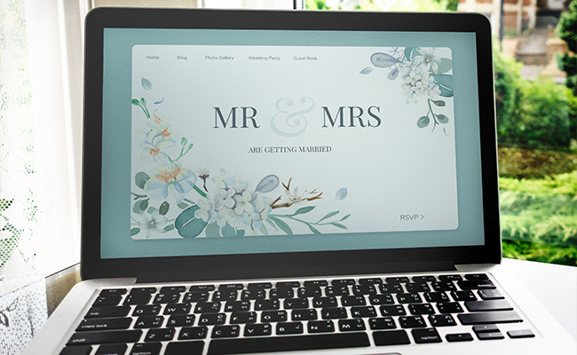 Electronic Wedding RSVP