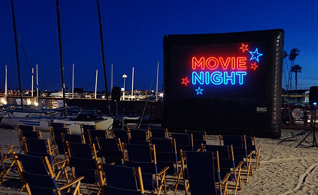 Summer bucket list: Outdoor movies on the Bay at the Catamaran Resort Hotel and Spa