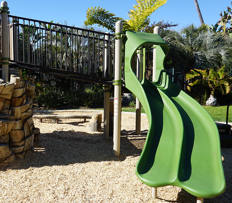 Playground at Bahia Resort Hotel on Mission Bay