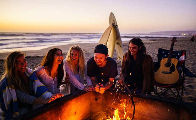 Summer bucket list: S'mores on the Beach