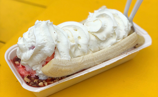 Mr. Frosty Banana Split Mission Beach
