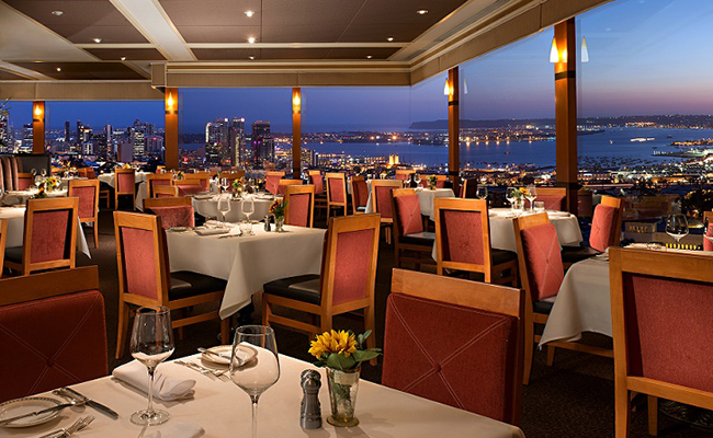 Best San Diego Restaurants With A View Bahia Resort Hotel