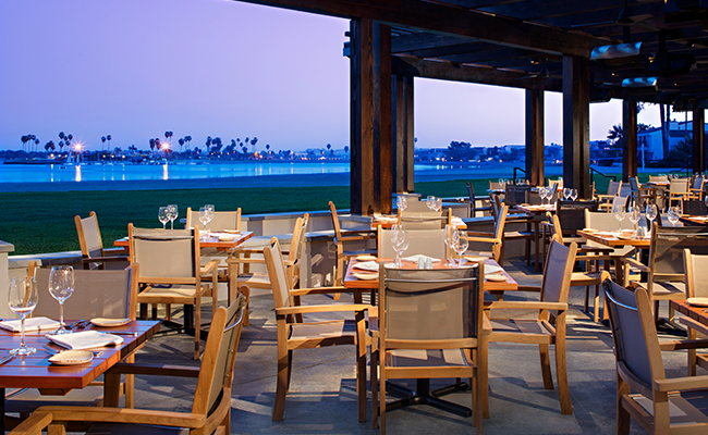 Best San Diego Restaurants with a View | Bahia Resort Hotel